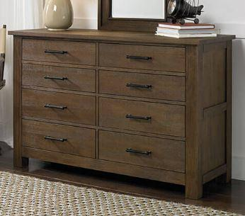 Dolce Babi Lucca Double Dresser