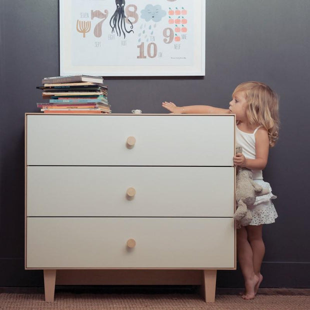 Oeuf Merlin 3-Drawer Dresser