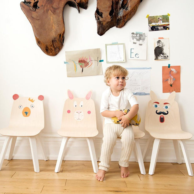 Oeuf Play Chairs Rabbits (Set of 2)
