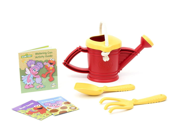 Green Toys Elmo Watering Can Activity Set