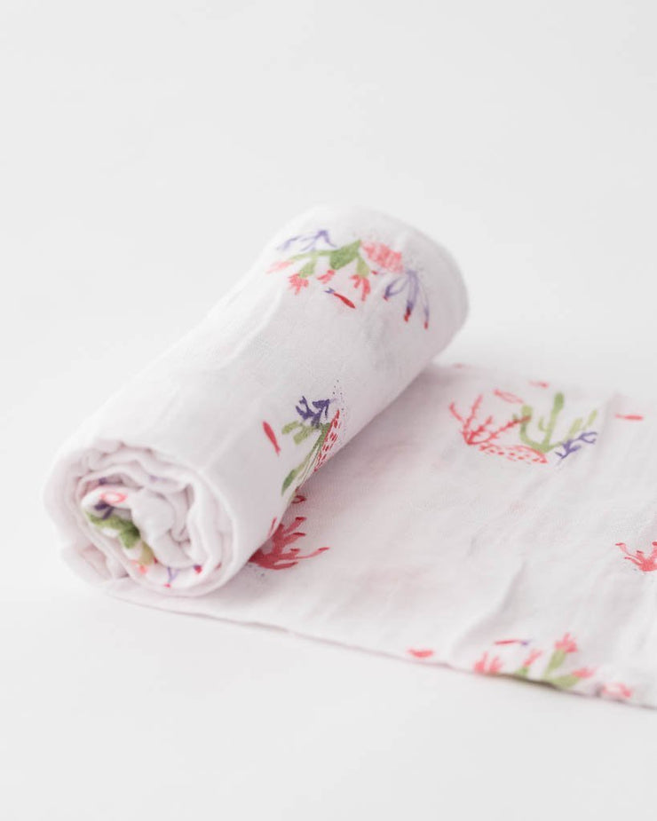 Little Unicorn Cotton Muslin Swaddle - Purchaser's Choice Gender Neutral