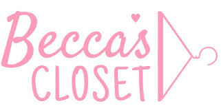 Shipping Label to Becca's Closet - accepts prom dresses only.