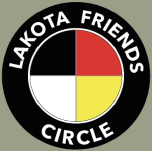 Lakota Friends Circle Shipping Label