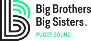 Big Brothers Big Sisters Puget Sound Shipping Label