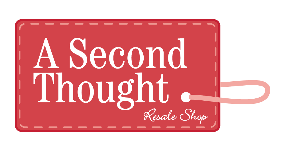 Second Thought Resale Shop Shipping Label