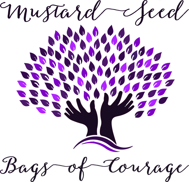 Mustard Seed Bags of Courage Shipping Label
