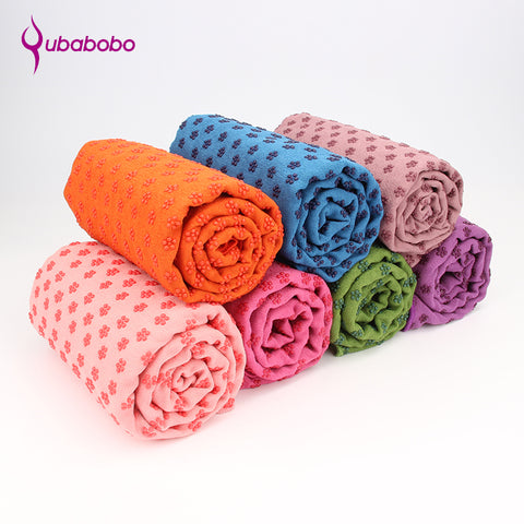 Dotted Color Yoga Towel