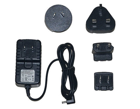 Battery Charger for 7.4 Volt Batteries (US/World Plug Set)