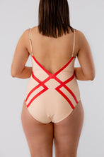 Load image into Gallery viewer, Amélie Swimsuit Delicate Red