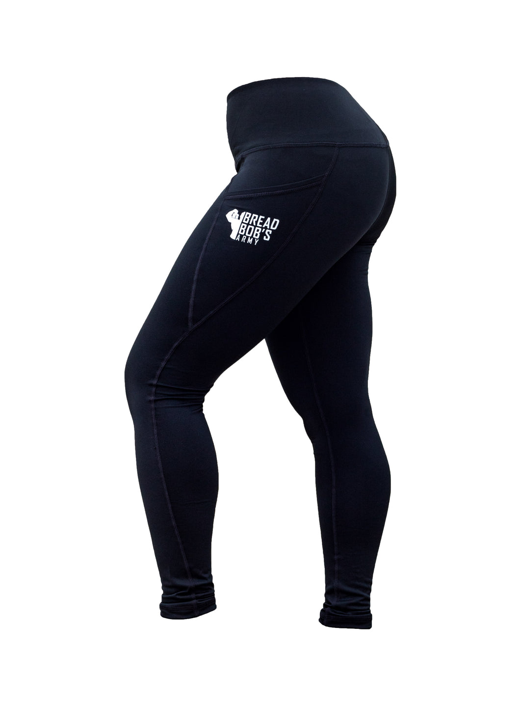Black Leggings (With Pockets)