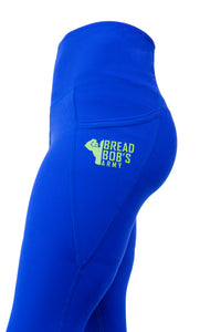 Royal Blue BBA Leggings with Pockets