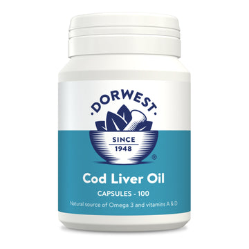 Dorwest Herbs Cod Liver Oil Capsules