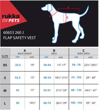 Rukka Dog Flap Safety Vest