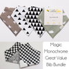 Monochrome Magic Great Value Bib Bundle - Little Bee & Me