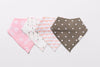 Spring Dandelions Bandana Bibs - Set of Four - Little Bee & Me