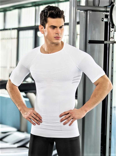 Tee-shirt musculation Homme manches courtes