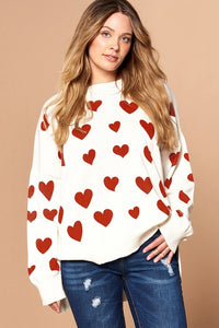 Re-stock SweetHeart tunic pullover