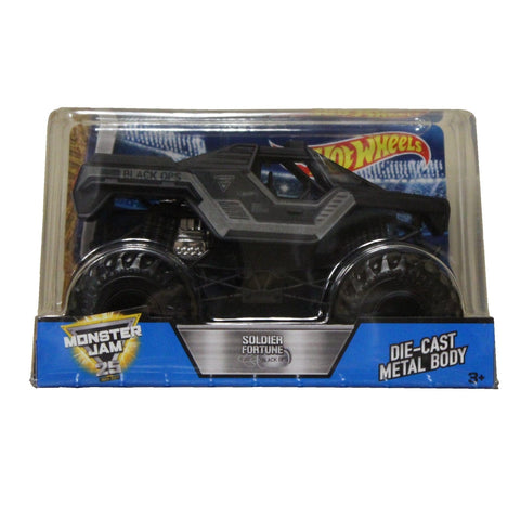 Hot Wheels Monster Jam 1:24 Scale: Soldier Fortune