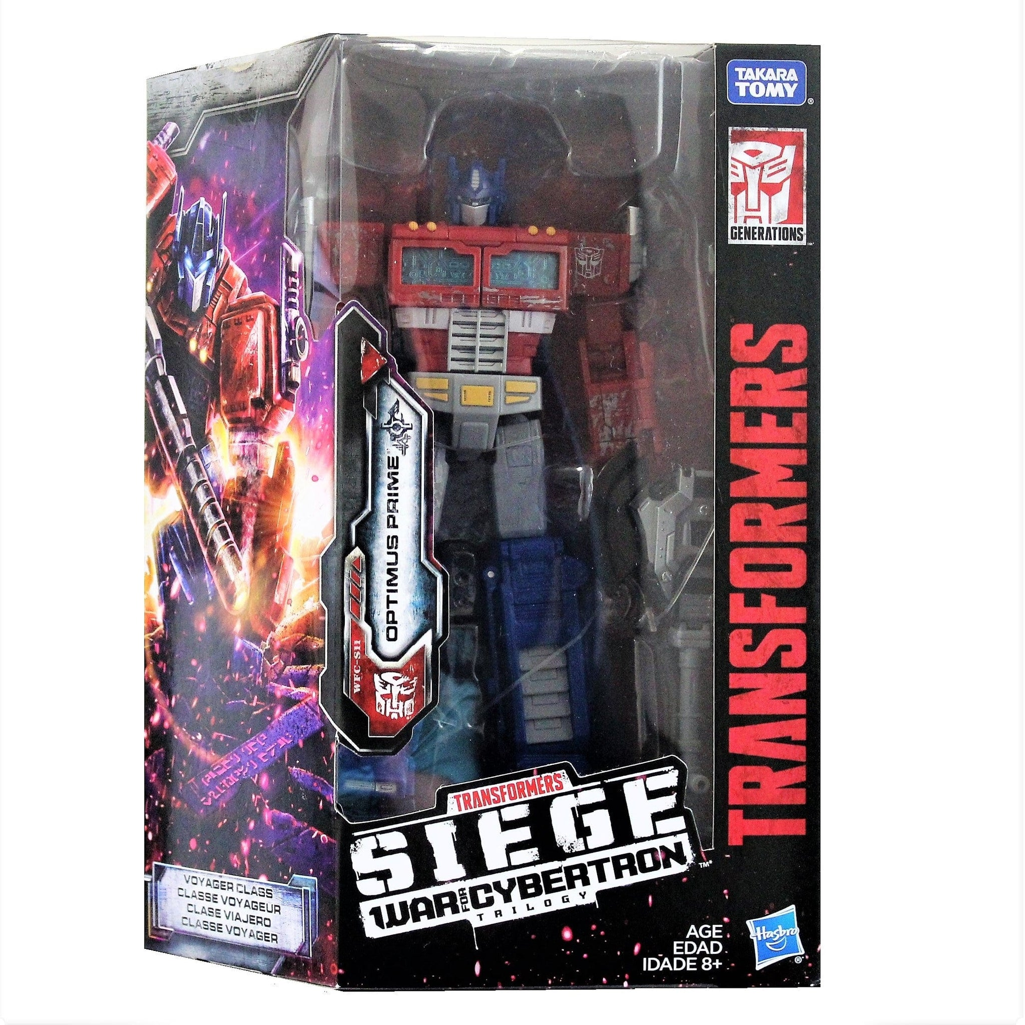 Transformers Generations Siege Voyager - Optimus Prime