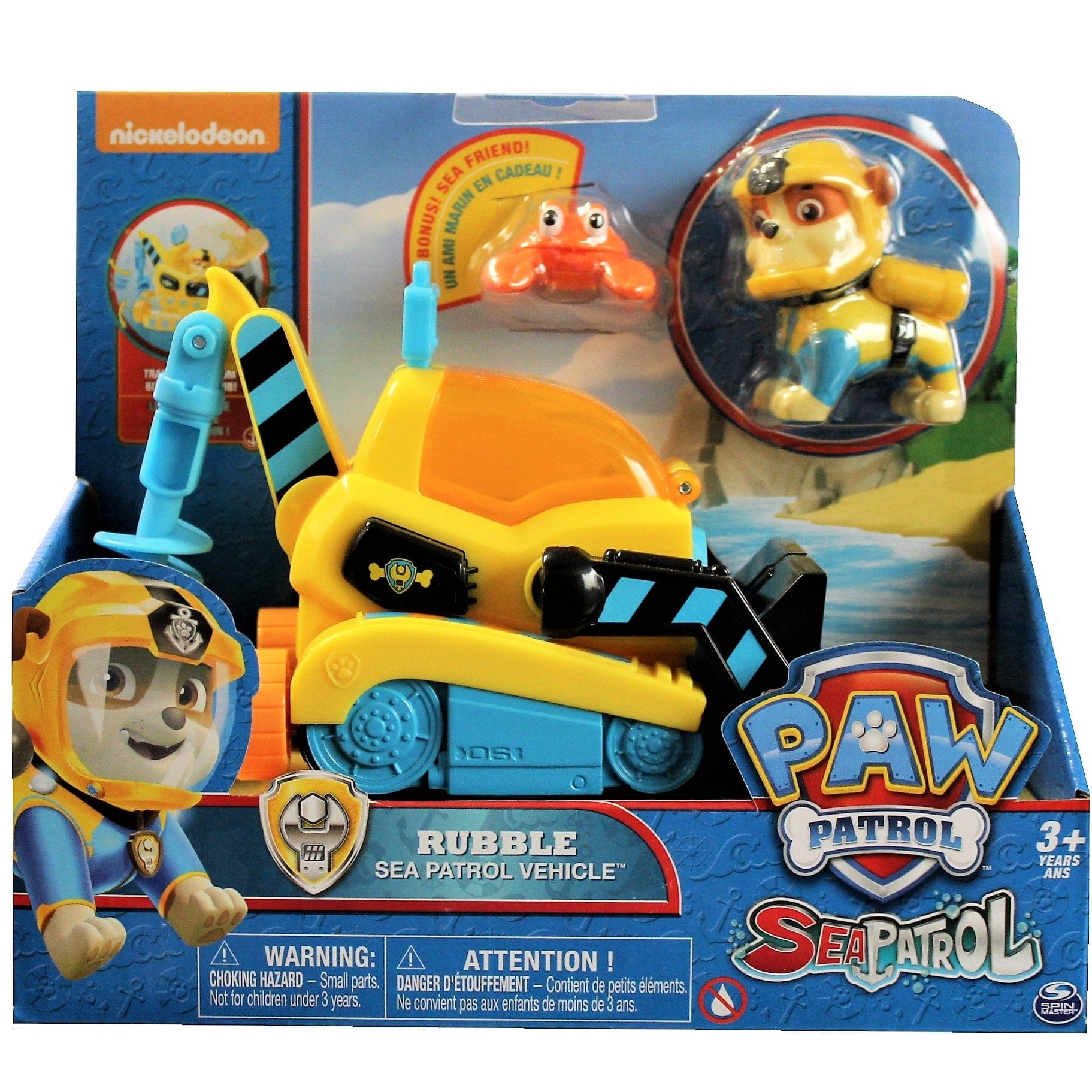 Paw Patrol Sea Patrol Basic Themed Vehicle - Rubble