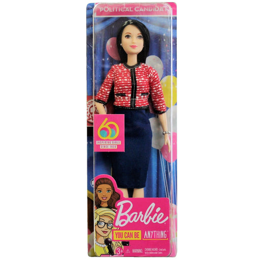 Barbie - You can be anything - 60th Anniversary - Political Candidate, Doll, Mattel - ToyShnip