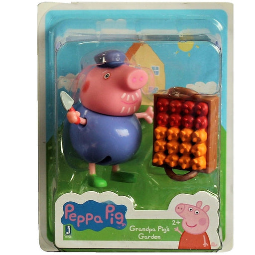 Peppa Pig Friends and Fun Mini-Figure - Grandpa Pig's Garden, [product_type], Jazwares - ToyShnip