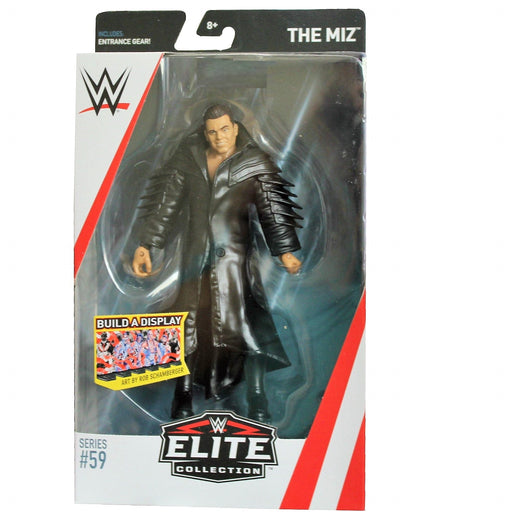 WWE Elite Collection Series 59 Action Figure - The Miz, Action Figure, Mattel - ToyShnip