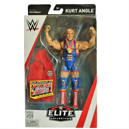 WWE Elite Collection Series 59 Action Figure - Kurt Angle, Action Figure, Mattel - ToyShnip