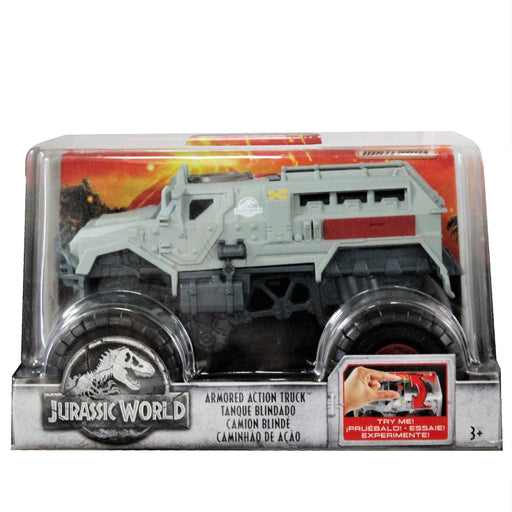 Jurassic World: Fallen Kingdom Matchbox 1:24 Scale - Armored Action Truck, [product_type], Mattel - ToyShnip