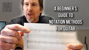 Quick Guitar Lesson: A Beginner's Guide to Notation Methods for Guitar with Bill Uhler