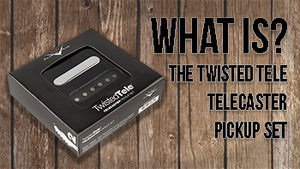 The Fender Custom Shop Twisted Tele Pickup Set for Telecaster