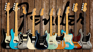 What's cool: The Fender American Professional II Guitars and Basses