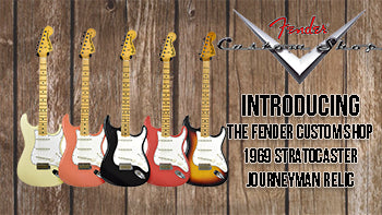 Introducing Our Fender Custom Shop 69 Stratocaster Journeyman Relic!