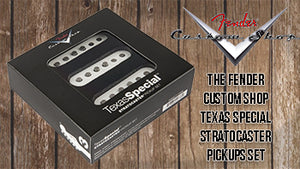 What are Fender Custom Shop Texas Special Stratocaster Pickups?
