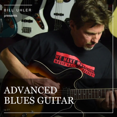 Advanced Blues Guitar