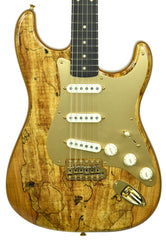 Spalted Maple on a Fender Custo Shop Artisan Strat