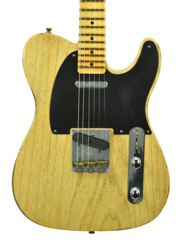 Fender Custom Shop Aged Natural Finish on a 1 Piece Ash Body