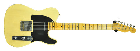 Fender Custom Shop 1951 Nocaster Relic comes loaded with Texas Special Pickups