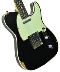 Fender Custom Shop 1960 Telecaster Custom in Black with Twisted Tele Pickups