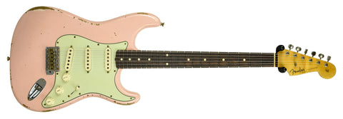 Fender Custom Shop 61 Strat in Shell Pink with Texas Special Pickups