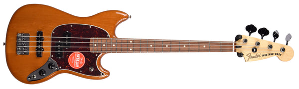 The Fender Mustang Bass is a shop favorite short scale electric bass