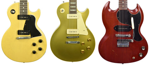 Gibson Guitars with P90 Pickups