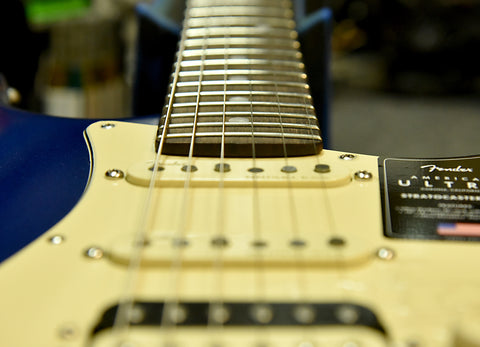"""The 10"""" to 14"""" compound radius on the American Ultra Stratocaster"""