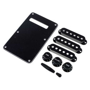Fender® Stratocaster Accessory Kit - Black | The  Music Gallery
