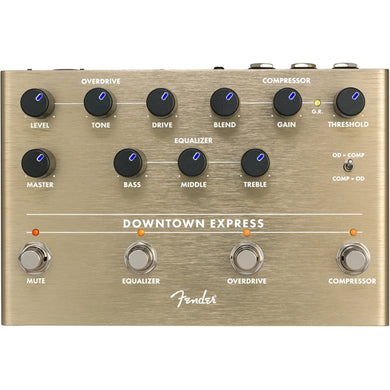 Fender Downtown Express Bass Multi Effect Unit - The Music Gallery