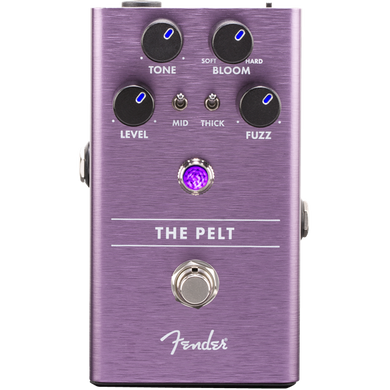 Fender The Pelt Fuzz Pedal for Electric Guitar and Bass