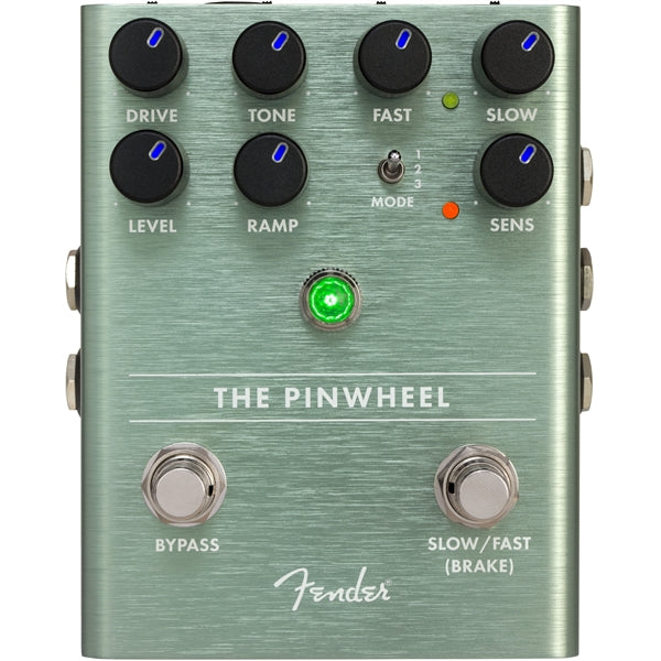 Fender The Pinwheel Rotary Pedal Front Pedal Controls
