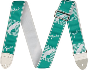 Fender Custom Mono Strap in Sea foam Green