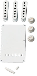 Fender® Stratocaster Accessory Kit - White | The  Music Gallery