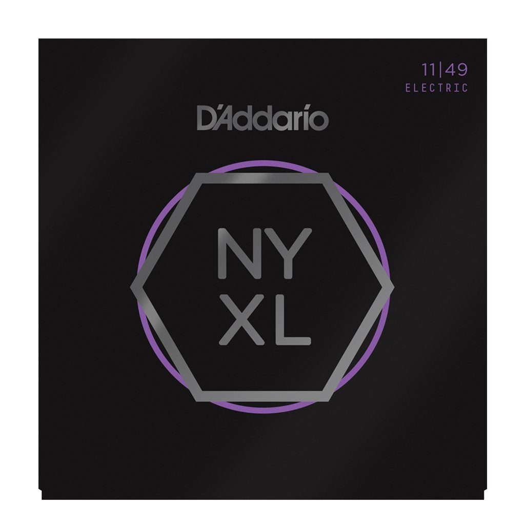D'Addario NYXL .011-.049 Medium Nickel Wound Electric Guitar Strings | The  Music Gallery